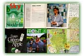 Cover Stories and Press for Green Map