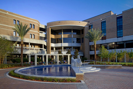 leed certified silver building unf brooks college of health