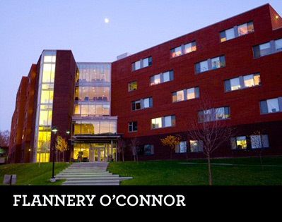 Flannery O Connor Open Green Map