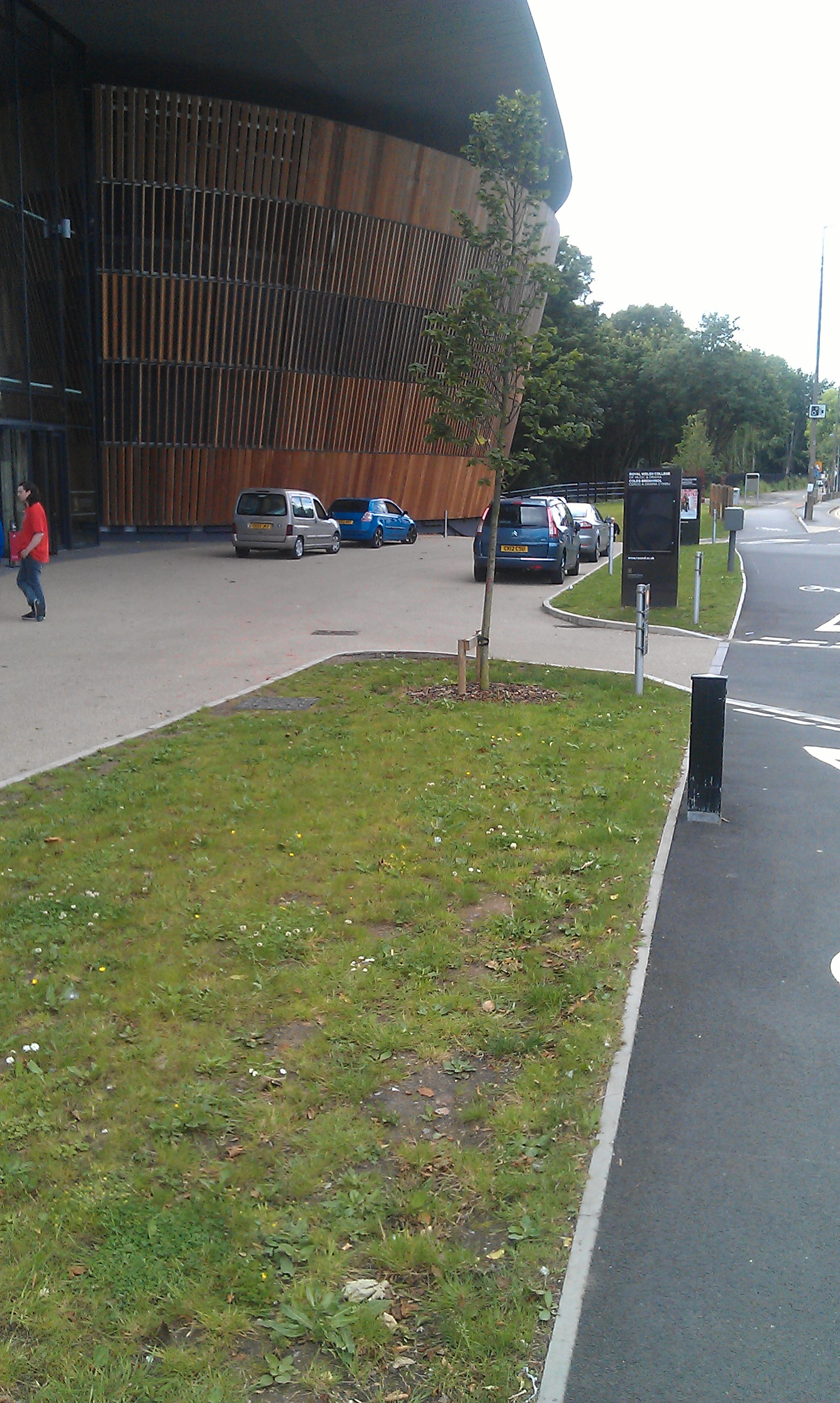 Royal Welsh College Of Music And Drama Open Green Map