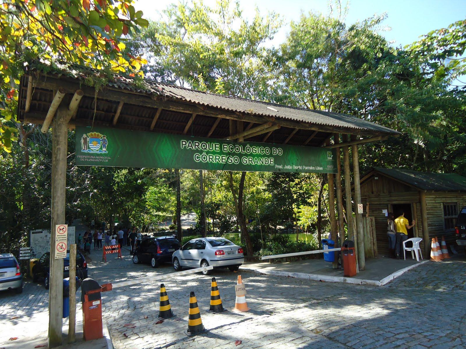Parque ecol gico do c rrego grande mapa verde abierto for Parque japones precio de entrada